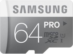 Samsung PRO R90/W50 microSDXC 64GB, UHS-I, Class 10 (MB-MG64D/EU)