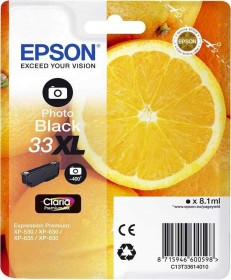 Epson Tinte 33XL schwarz photo (C13T33614010)