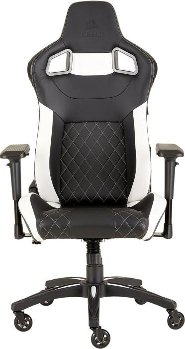 Corsair T1 Race 2018 gaming chair, black/white (CF-9010012-WW)
