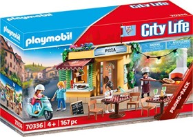 playmobil City Life - Pizzeria mit Gartenrestaurant (70336)