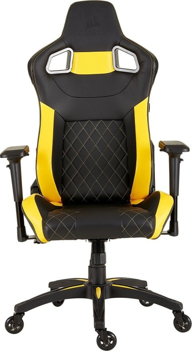 Corsair T1 Race 2018 gaming chair, black/yellow (CF-9010015-WW)