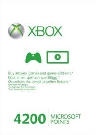 Microsoft Xbox Live Points Card - 4200 Punkte (Xbox One/Xbox 360) (56P-00101)