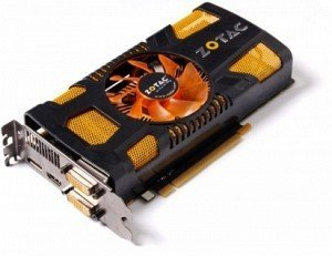 Zotac GeForce GTX 560 Ti, 1GB GDDR5, 2x DVI, HDMI, DisplayPort (ZT-50301-10M)