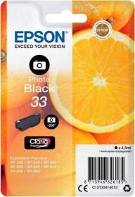 Epson Tinte 33 schwarz photo (C13T33414010)