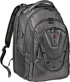 "Wenger 17.3"" Ibex Leather backpack black (605499)"