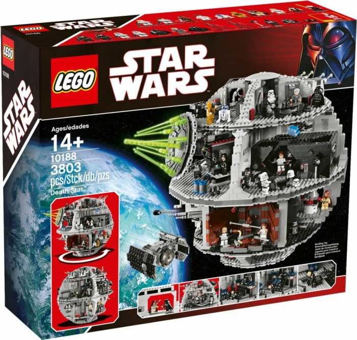 LEGO - Star Wars Exclusives - Death Star (10188) -- via Amazon Partnerprogramm
