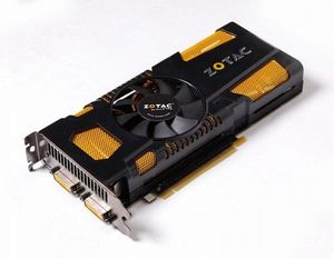 Zotac GeForce GTX 560 Ti AMP!, 1GB GDDR5, 2x DVI, Mini HDMI (ZT-50302-10M)