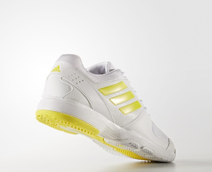 09034d404ed5b8 adidas Barricade Court white bright yellow white (ladies) (BY1651) starting  from £ 34.95 (2019)