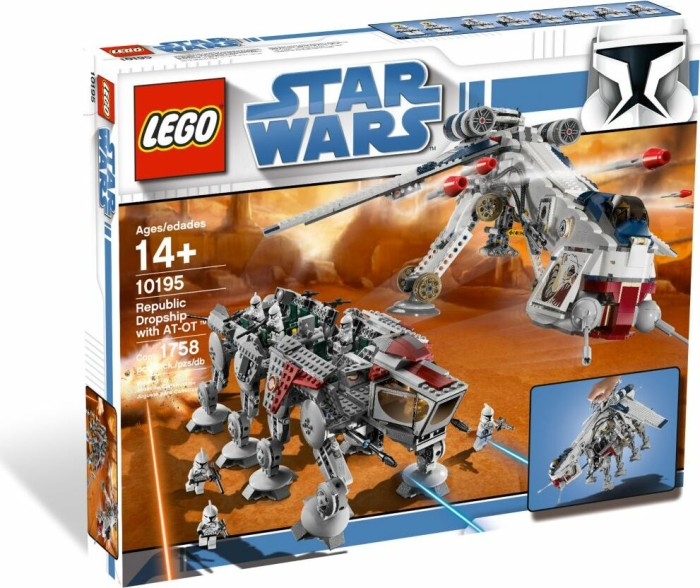 LEGO - Star Wars Exclusives - Republic Dropship with AT-OT Walker (10195) -- via Amazon Partnerprogramm