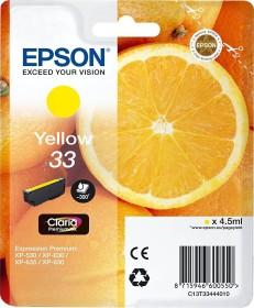 Epson Tinte 33 gelb (C13T33444010)