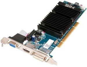 HIS Radeon HD 5450 Silence, 512MB DDR3 650MHz, VGA, DVI, HDMI (H545H512P)