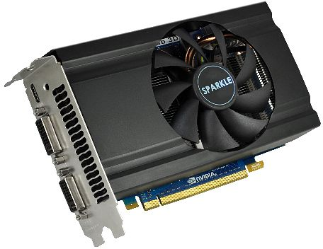 Sparkle GeForce GTX 560 Ti, 1GB GDDR5, 2x DVI, mini HDMI (SX560T1024D5MH)