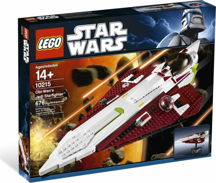 LEGO - Star Wars Exclusives - Obi-Wan's Jedi Starfighter (10215) -- via Amazon Partnerprogramm