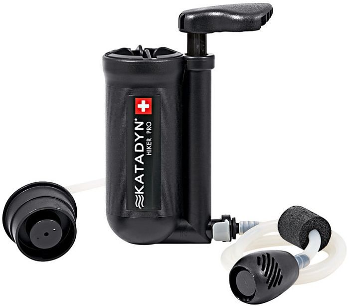 Katadyn Hiker Pro water filter -- ©Globetrotter