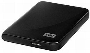 Western Digital WD My Passport Essential black 320GB, USB 3.0 micro B (WDBACY3200ABK)