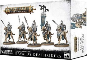 Games Workshop Warhammer Age of Sigmar - Ossiarch Bonereapers - Kavalos Deathriders (99120207077)