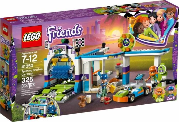 LEGO Friends - Spinning Brushes Car Wash (41350)