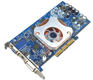 Albatron Ti4200P Turbo, GeForce4 Ti4200, 128MB DDR, DVI, TV-out, AGP