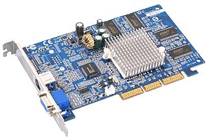 Albatron MX4000/MX440SE, GeForce4 MX440, 64MB DDR, TV-out, AGP