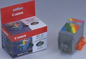 Canon BCI-62 Printhead with ink coloured photo (0969A002)