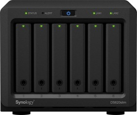 Synology Diskstation DS620slim 20TB, 2x Gb LAN