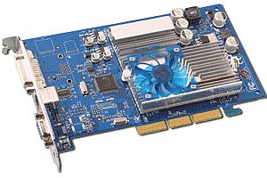 Albatron MX480, GeForce MX440-8X, 64MB DDR, DVI, TV-out, AGP
