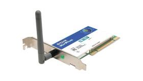 D-Link AirPlus, 2.4GHz WLAN, PCI (DWL-520+)