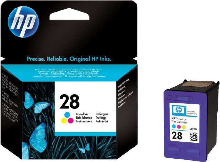 HP 28 Printhead with ink coloured (C8728AE)