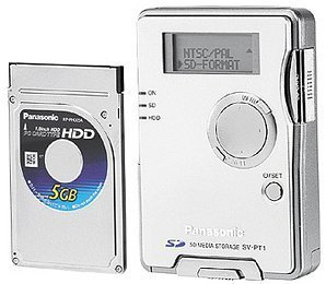 Panasonic D-Snap SV-PT1 srebro