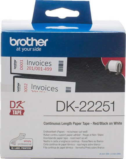 Brother DK-22251 continous label, 102mm, white, 1 Role (DK22251)
