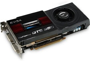 EVGA GeForce GTS 250, 512MB DDR3, 2x DVI, TV-out (512-P3-1150-TR)