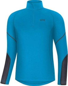 Gore Wear Mid Zip Shirt langarm dynamic cyan/black (Herren) (100530-0N99)