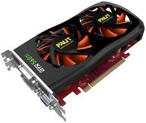 Palit GeForce GTX 560 Ti Sonic, 1GB GDDR5, VGA, 2x DVI, HDMI (NE5X56TSF1002)