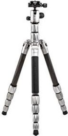 MeFoto BackPacker S Travel Tripod Carbon silber (BPSCTTN)