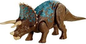 Mattel Jurassic World Brüll-Attacke Triceratops (GVH66)