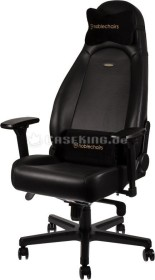 noblechairs Icon Nappa gaming chair, black (NBL-ICN-NL-BLA)