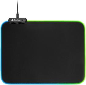 Sharkoon 1337 RGB V2 Gaming Mat 360, schwarz
