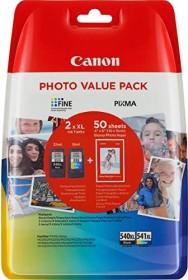 Canon Tinte PG-540 XL/CL-541 XL schwarz/dreifarbig Photo Value Pack (5222B014)