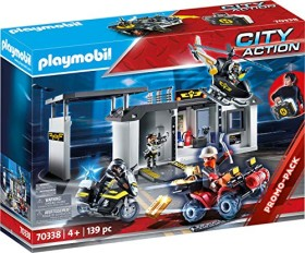 playmobil City Action - Große Mitnehm-SEK-Zentrale (70338)