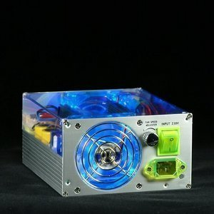 Levicom Visible Power 500W ATX SATA silber (SPS-VP500S.BL) -- © CWsoft