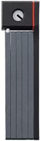 ABUS uGrip Bordo 5700 Faltschloss schwarz, Schlüssel (11273)