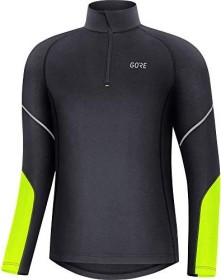 Gore Wear Mid Zip Shirt langarm black/neon yellow (Herren) (100530-9908)