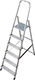 Krause Corda aluminum household ladder 6 stages (000736)