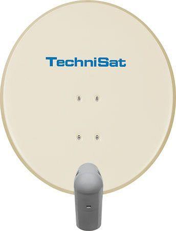 TechniSat Satman 650 Plus beige inkl. Unysat Super-V/H Single-LNB (6065/8800)