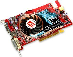 HIS Excalibur Radeon X800 Pro, 256MB DDR3, DVI, TV-out, AGP