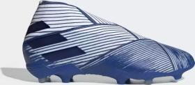 adidas Nemeziz 19+ FG cloud white/royal blue (Junior) (EG7242)