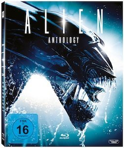 Alien Box (Filme 1-4) (Blu-ray)