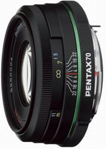Pentax smc DA 70mm 2.4 Limited (21620)