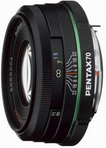 Pentax smc DA 70mm 2.4 Limited czarny (21620)