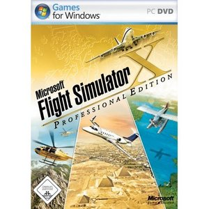 Flight Simulator X Professional (deutsch) (PC) (9AM-00025)